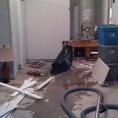 Water Heater Damage